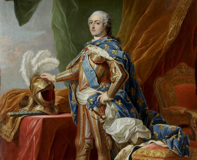 Louis XV en armure château de Parentignat