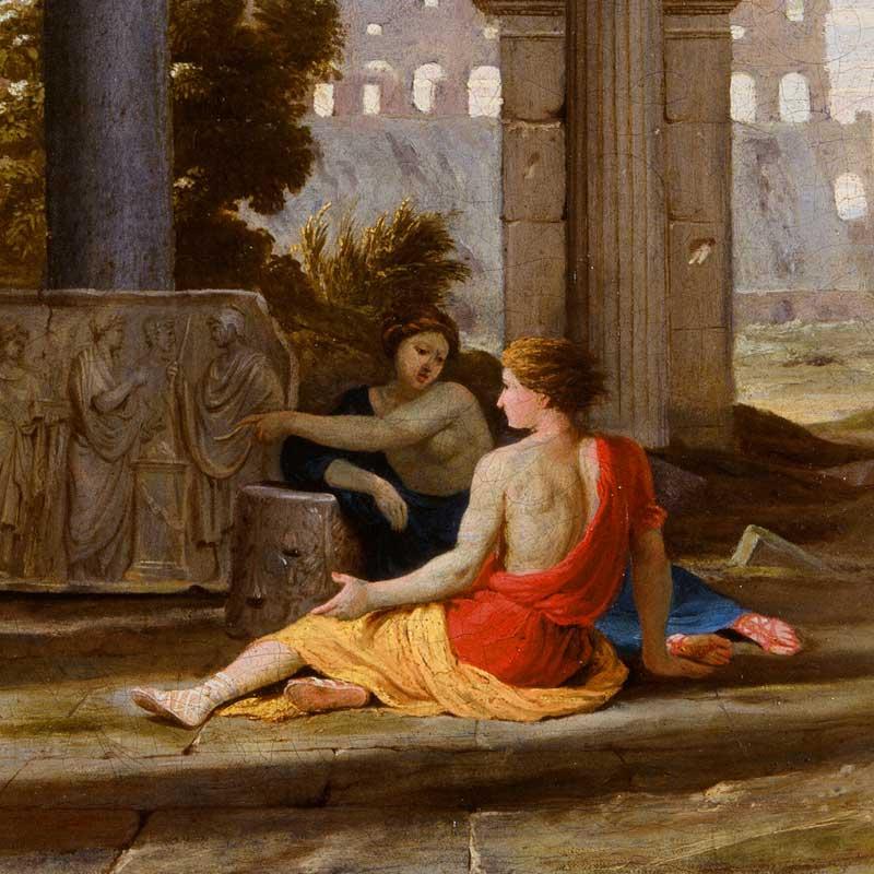 Paysage antique