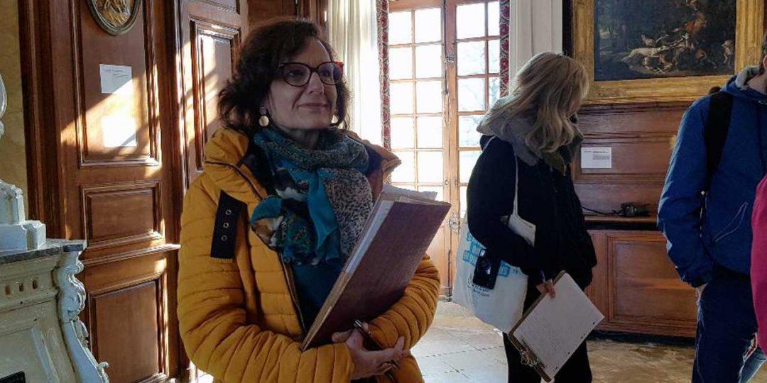 """Catherine Morgan-Proux : """"Parentignat est une magnifique salle d'entrainement pour les élèves guides-conférenciers"""""""