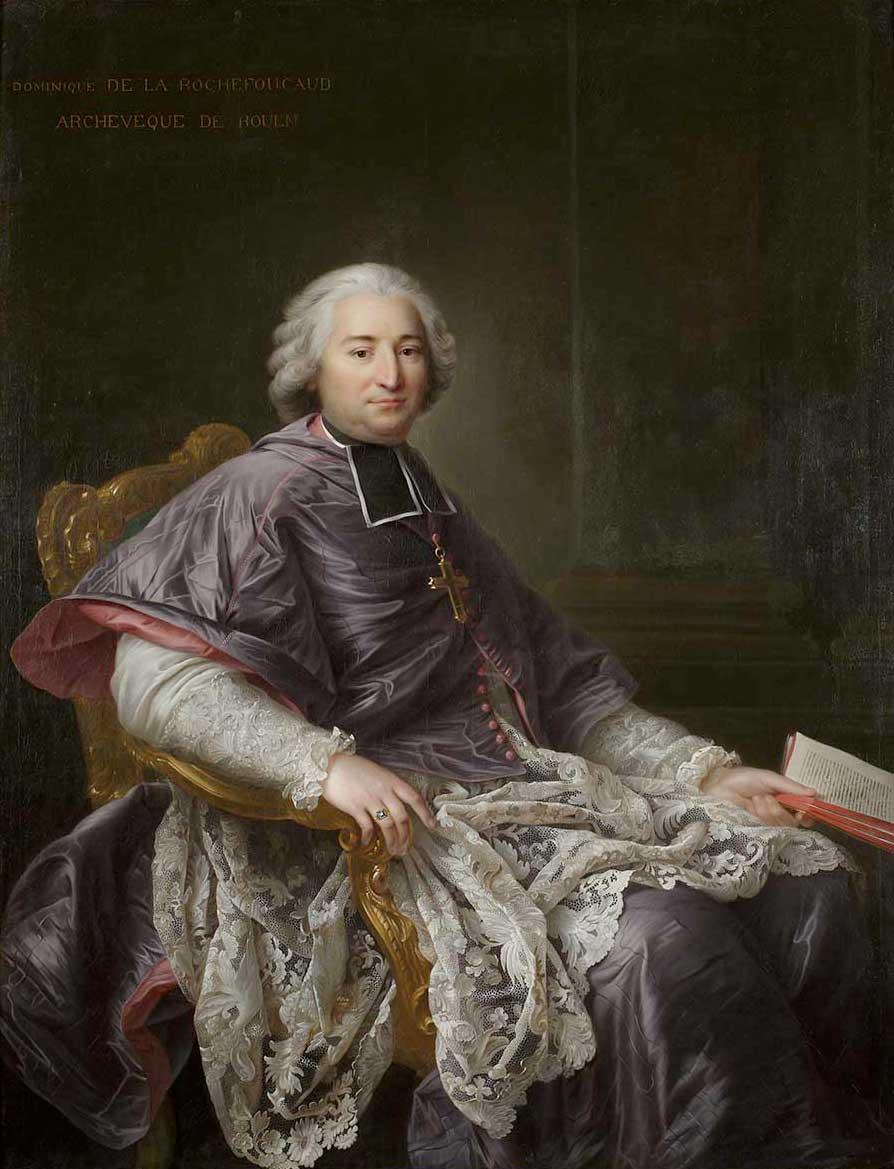 Portrait du Cardinal de Rouen