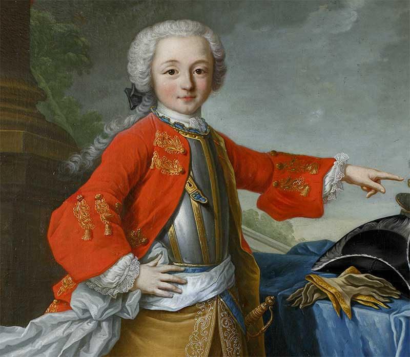 Anne-François IV enfant