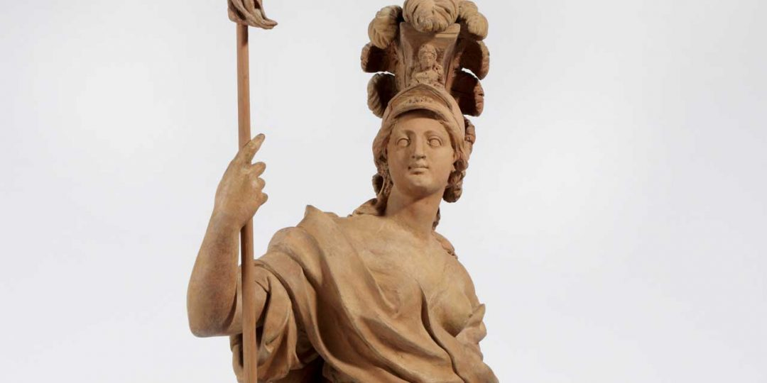 La déesse Minerve de Jacques Bergé
