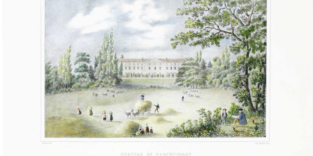 Petite histoire du parc de Parentignat / Rendez-vous aux Jardins 2018
