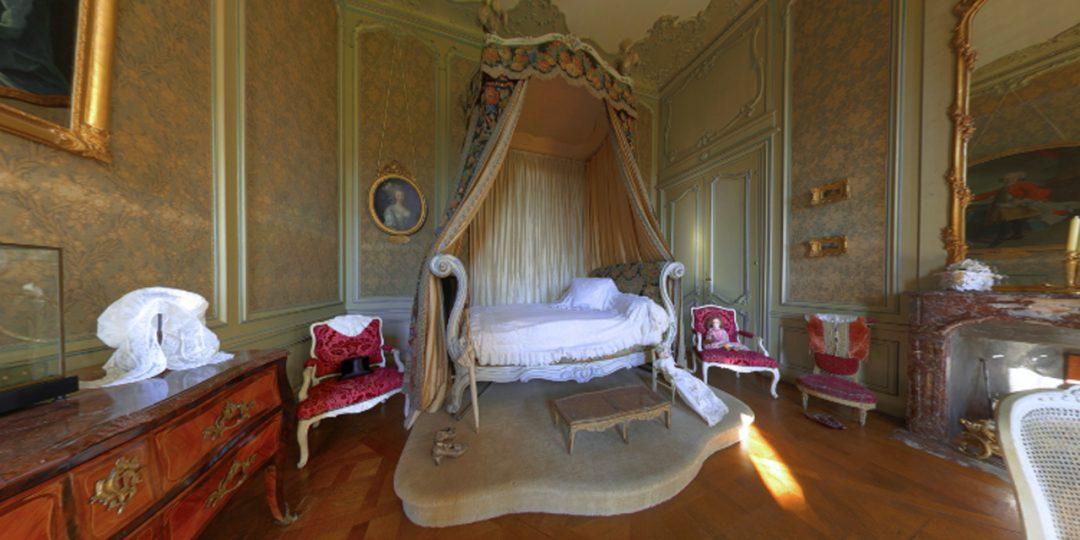 La chambre Louis XV, une esthétique si féminine