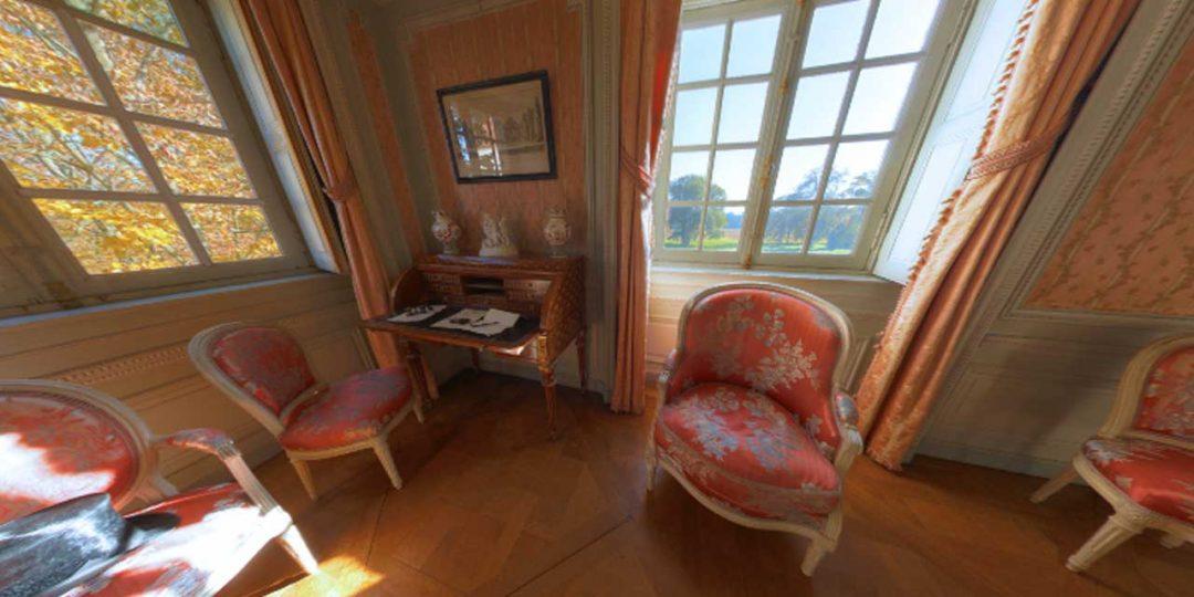 Château de Parentignat - Le boudoir